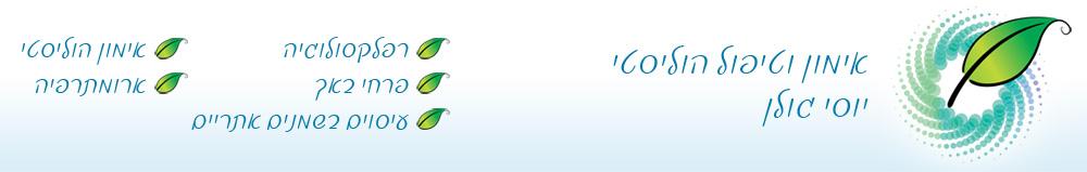 האתר של יוסי גולן לוגו